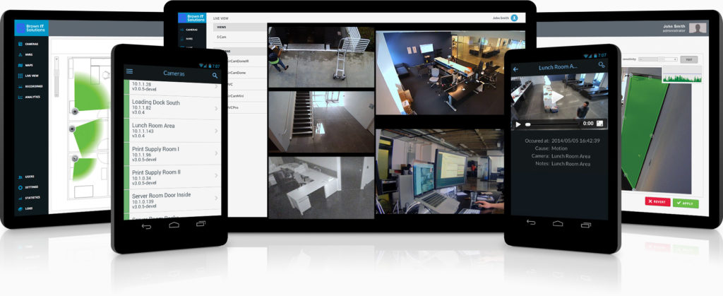 NVR Surveillance System - Brown IT Solutions - Owosso and Lansing MI